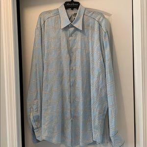 Men's Linen Robert Graham shirt